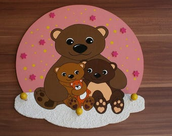 Girl wardrobe bear