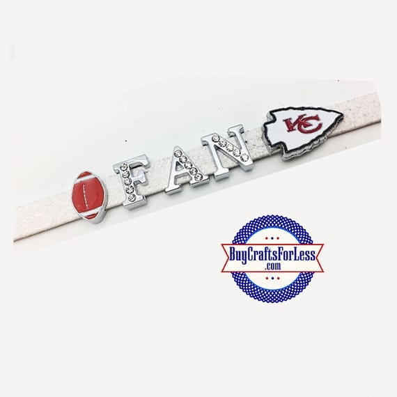 KANSAS CITY Charms for Slider Bracelets, Collars, or Key Rings +FREE Shipping & Discounts*