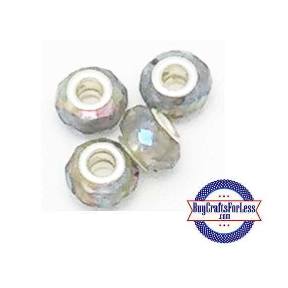 Acrylic BEADs, SMOKE, 8 or 25 pcs  +FREE Shipping & Discounts*