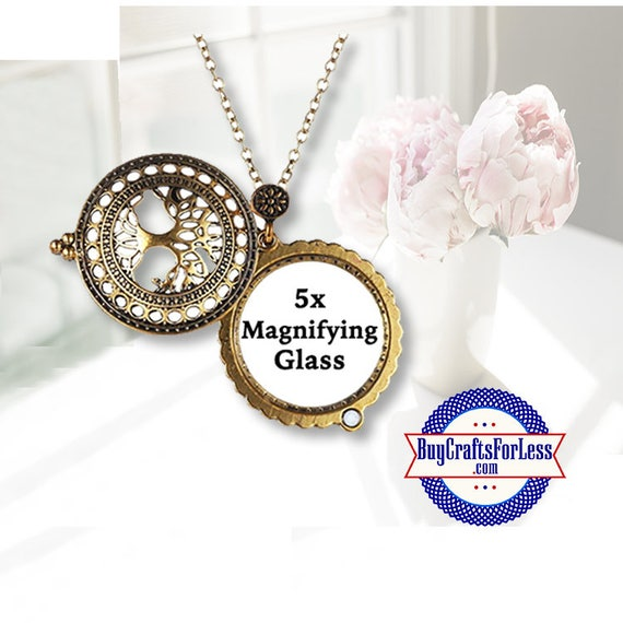 Magnifying Glass PENDANT, TREE of LiFE +FReE SHiPPing + Discounts*