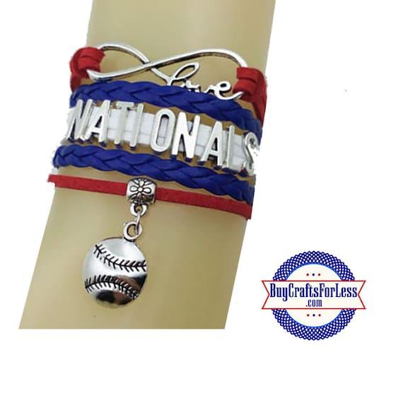 WASHINGTON Leather Bracelet-U Choose CHARM +Discounts & FREE Shipping*
