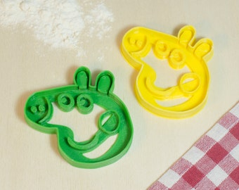 Cookie cutter cookies Peppa Pig Cookie Cutter-ideal for birthday with Peppa Pig