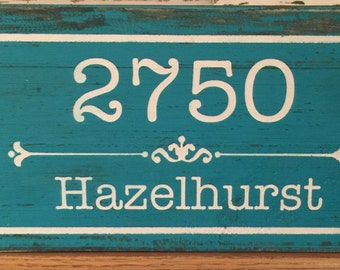Home Address Sign. Personalized House Number Plaque. Address Plaque. Outdoor Sign. Wedding Gift. House Warming Gift. House Number Plaque.