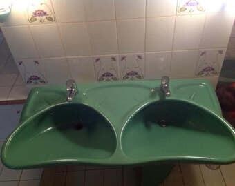 Luigi Colani - Villeroy Boch vintage bathroom suite