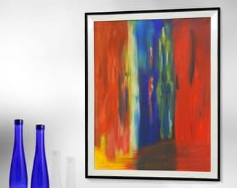 Painting, Acrylic Painting, Abstract Painting, Wall Decor
