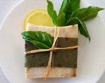 Lemon & Basil Soap