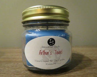 Arthur's Towel (8 oz. Jar) Soy Candle