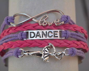 Dance Gift -Dance Bracelet – Dance Gift - Dancing - Perfect for Dancers, Dance Coaches & Team Gifts