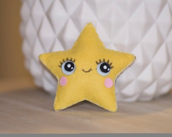 Mini plush star