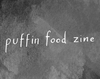Puffin Food Zine (PDF Version)