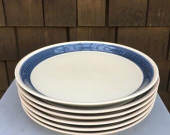 Mikasa Blue Thunder plates by Ben Seibel