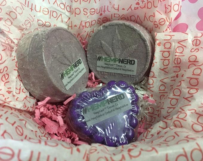 HempNerd™ Bath Bomb Gift Basket for Her