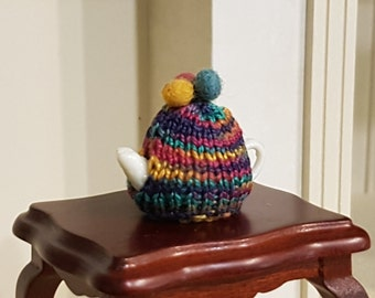 Miniature tea pot cosies