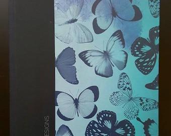 Blank Journal; Blue Butterflies