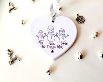 """Shop """"personalised christmas decoration"""" in Kitchen & Dining"""