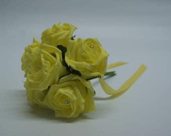 Wedding Posy - Perfect for Bridesmaids ( Light Yellow )