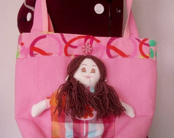 Bag doll for little girl