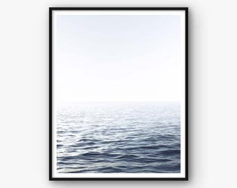 Ocean Print, Sea Wall Art, Ocean Art, Sea Photo, Ocean Decor, Home Decor, Printable Ocean, Printable Artwork, Nordic Wall Art, Sea Art