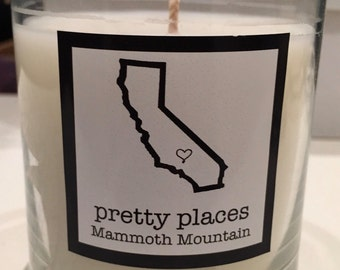 Mammoth Mountain candle - limited edition