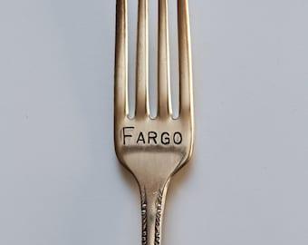 Stamped Silverware Fargo fork