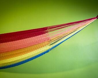 Thai big hammock in acrylic-totally handmade