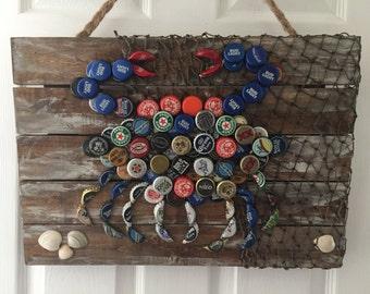 Beer Cap Crab