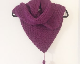 The Dunluce Hooded Scarf