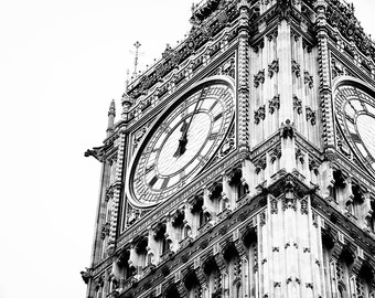 Big Ben, London, England, Europe, Travel, Explore, Photography, Fine Art Print, Home Decor