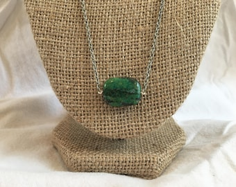 Green Chrysocolla Necklace