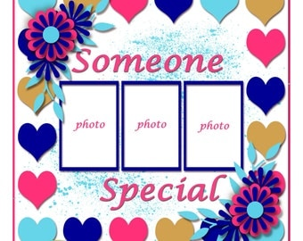Someone Special Digital Template From the Entitled Series