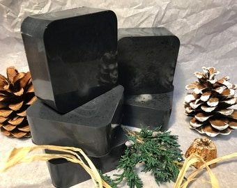 Activated Charcoal / Peppermint/ Goat Milk Soap