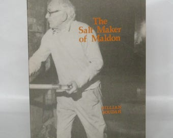 The Salt Maker of Maldon. Gillian Soudah. Signed. 1st edition.