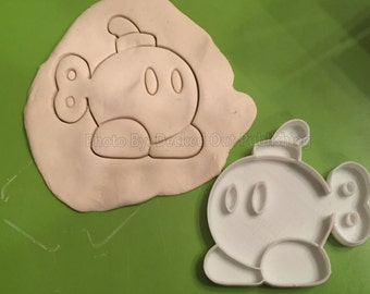 Bob-Omb Mario Brothers Cookie Cutters / made in USA