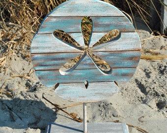 Carved Sand Dollar Table Decor - C671