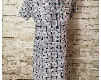 Retro/70's shirt dress
