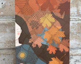 """Postcard """"autumn"""""""