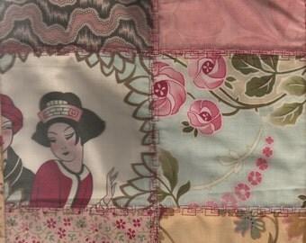 JAPANESE style table runner quilt