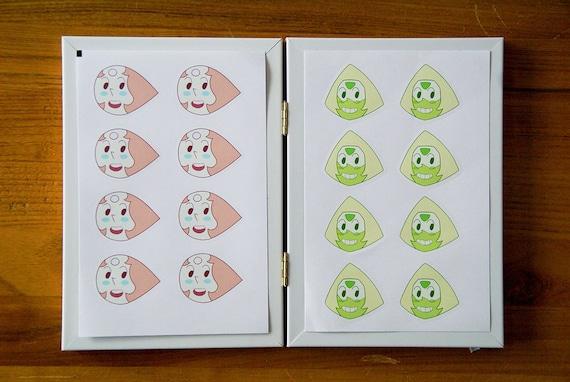 A6 Steven Universe Points sticker sheets