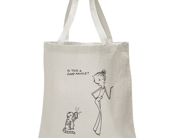 Say Cheese, Rosie Girl Tote