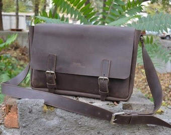 Leather Satchel Bag Leather Satchel Men Leather Bag Men Leather Messenger Bag Men Leather iPad Bag Leather Macbook Bag Leather Satchel  man