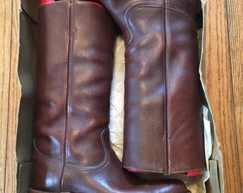 Vintage Texas Brand riding boots
