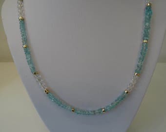 Apatite Crystal Necklace