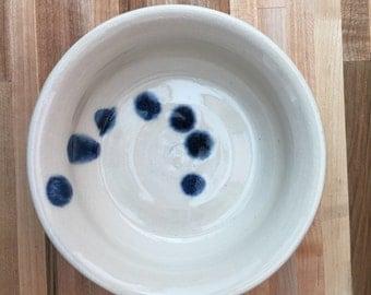 Medium wheel thrown stoneware bowl