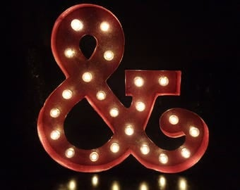 marquee sign ampersand light wedding light marquee lights letter light light up sign ampersand sign kitchen decor letter sign