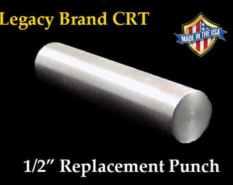 """Replacement Center Punch 1/2"""" inch for Legacy Brand Coin Ring Punch"""
