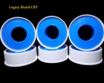 Coin Ring Tools: Pipe Thread Tape - 6 Rolls to Protect Coin Details when Folding Coin Rings