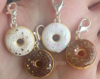 Donuts to glitter in polymer clay