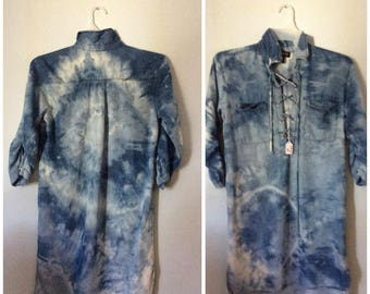 One of a kind tie-dye shirt size MED