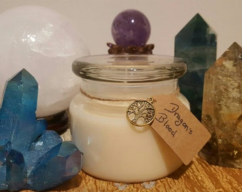 Essential oil candle (many options)