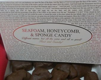 Chocolate Seafoam (Honeycomb)(Sponge) with pick the title of your lid boxing! Over forty lids to choose from!